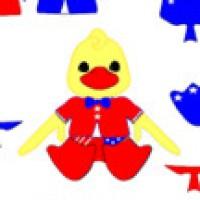 Patriotic Duck Dressup